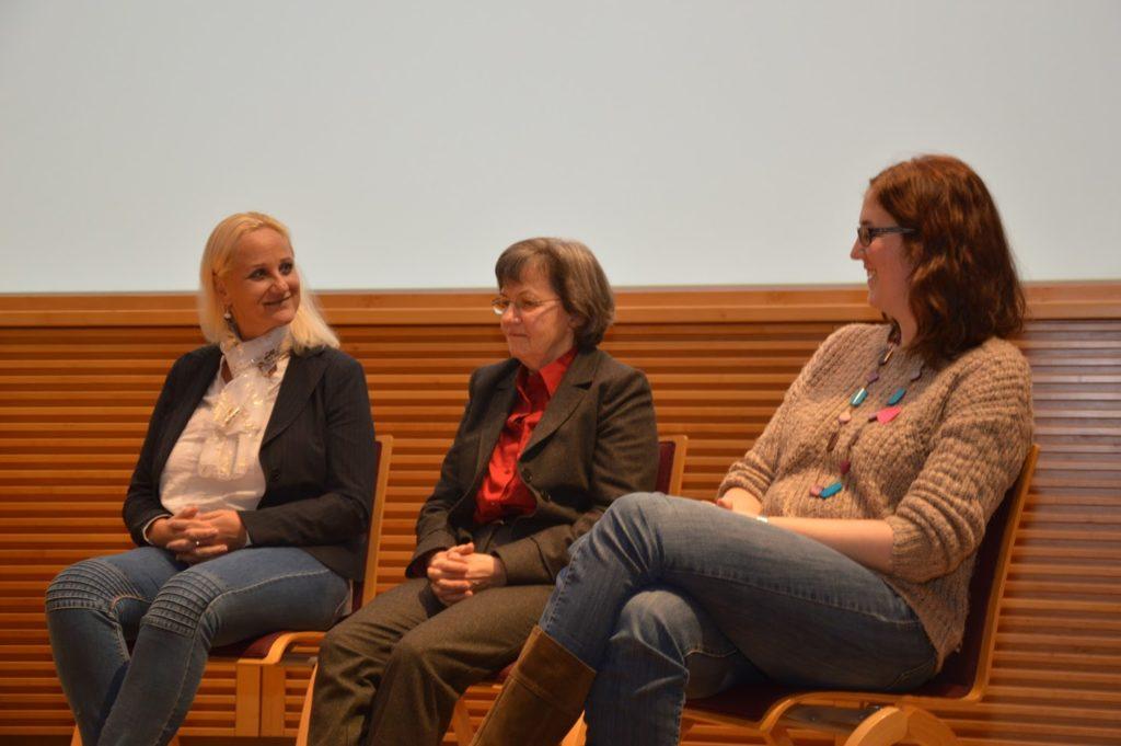 Plenumsgespräch: Alice Tlustos, Fini Wieser, Verena Grafinger